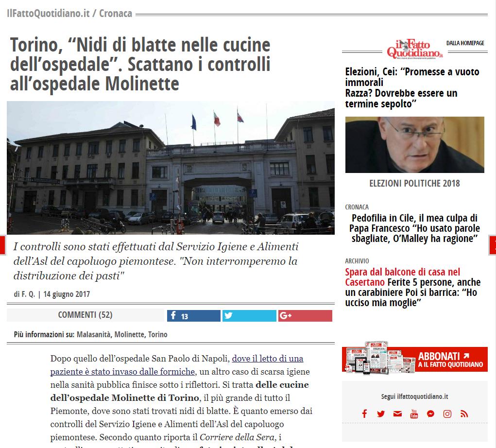 Malasanità Torino