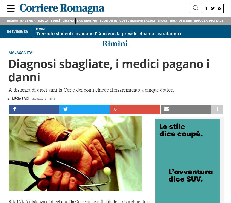 Malasanità Rimini