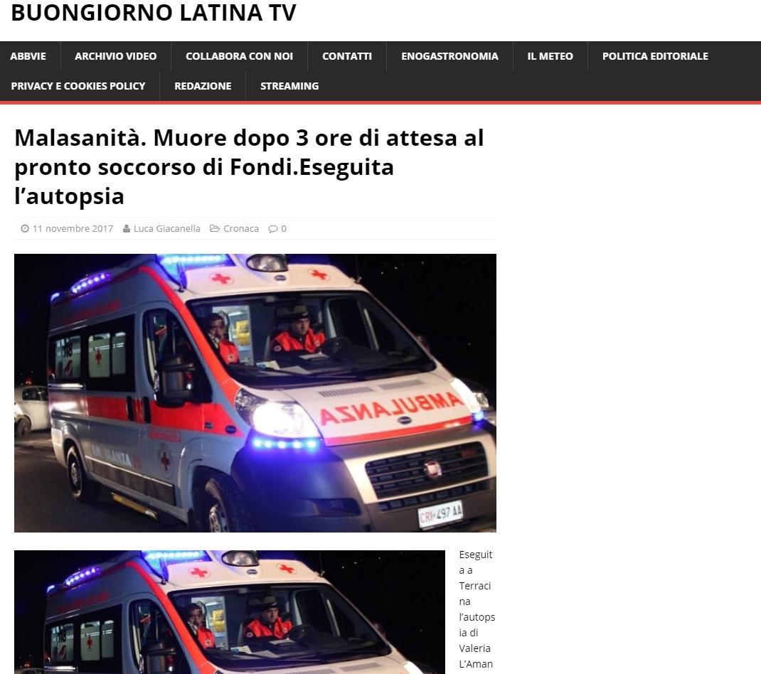Malasanità Latina
