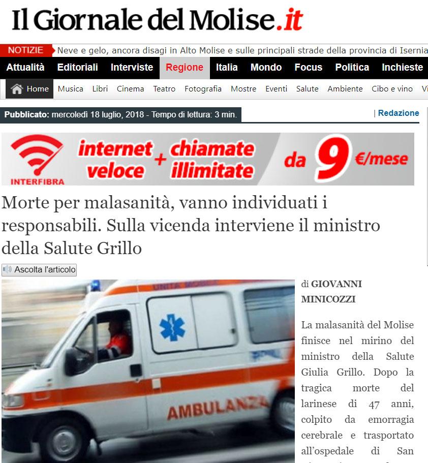 Malasanità Campobasso