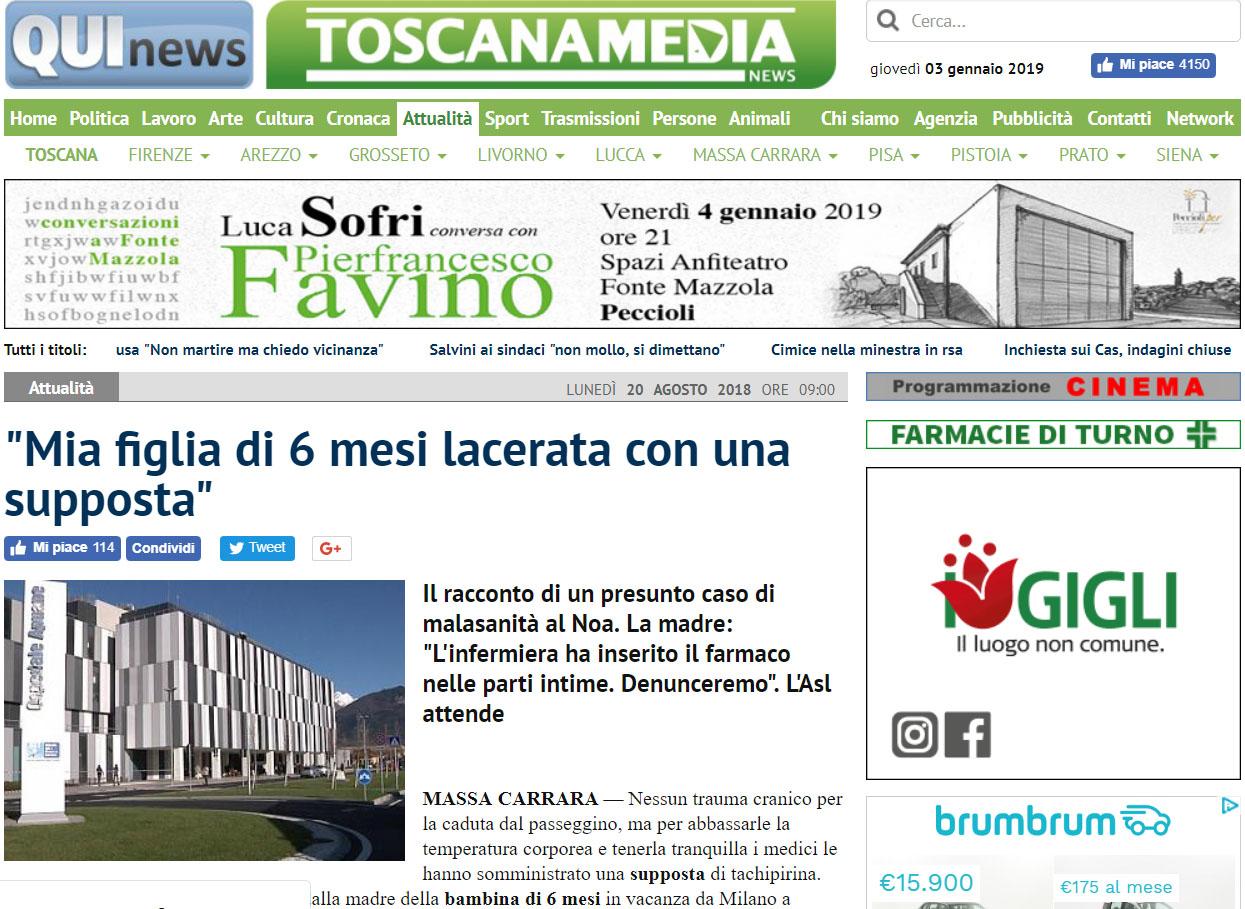 Malasanità Massa Carrara